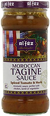 Al'fez Spiced Tomato and Herb Tagine Sauce 350 g (Pack of 6)