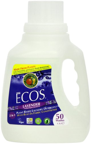 Earth Friendly Products Ecos Lavender Laundry Detergent 50 Washes 1.5 Litres Test