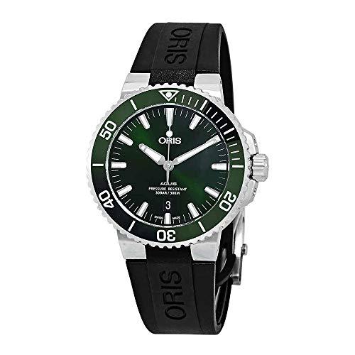 Oris Aquis Date Automatic Green Dial Men's Watch 01 733 7730 4157-07 4 24 64EB