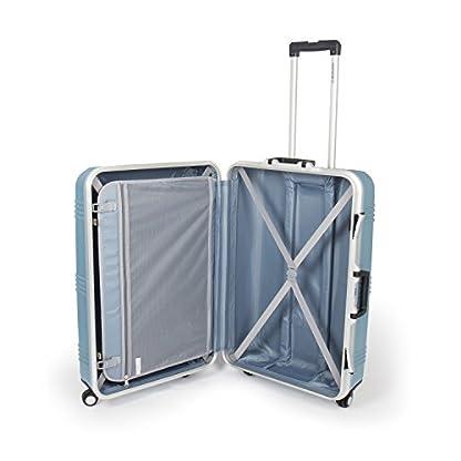 MasterGear-Hartschalenkoffer-mit-Aluminium-RahmenKoffer-mit-4-Rollen-360-GradTrolley-Reisekoffer-ABS-TSASHandgepck-Mae-M-L-stapelbar