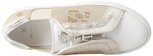 La Martina Damen cassetta Sneaker Bianco (White)