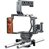 Sevenoak SK‐A7C1 Cage Vidéo pour Sony A7/A7s/A7r/A7II/A7rII Noir