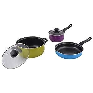 Tissot Metal Non Stick Cookware Set, 5 Pieces (14.2 cm x 5 cm x 10.6 cm)