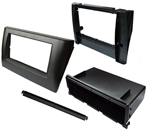 Preisvergleich Produktbild Aerzetix - Autoradio Adapter Radio Blende Autoradio Rahmen Adapter 1 DIN, 2 DIN Schwarz