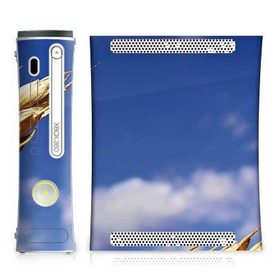 Microsoft Xbox 360 Case Skin Sticker aus Vinyl-Folie Aufkleber Landschaft Kornfeld Ähre