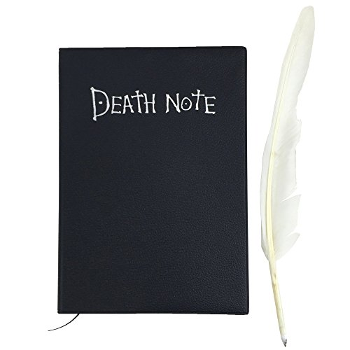 Note Notiz-Buch für Light Yagami Cosplay, Schwarz (Billige Anime Cosplay Kostüme)