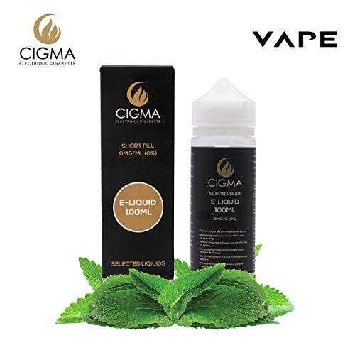 CIGMA Menta Doble 100ml E Liquido 0mg | Nuevas botellas