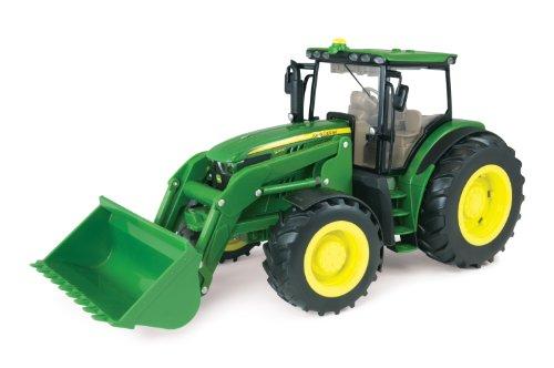 TOMY ERTL Big Deere 1: 166210R Traktor Traktor mit Lader (1 16 Traktor John Deere Ertl)