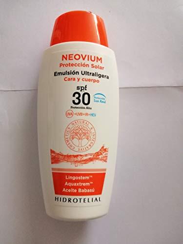 Hidrotelial Neovium Emulsión Ultraligera cara y cuerpo SPF30
