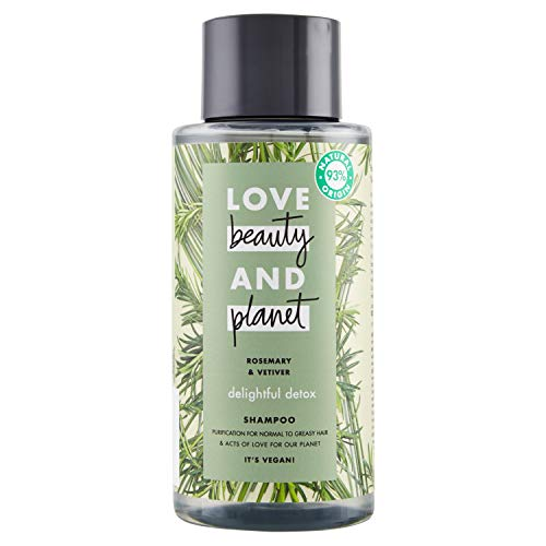 Image result for Love Beauty & Planet Shampoo Rinfrescante con Vetiver & Tea Tree Oil