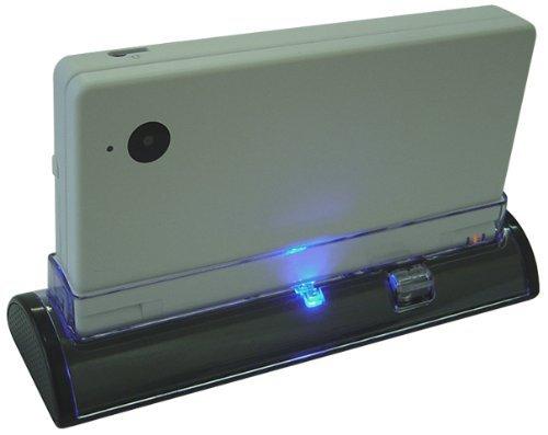 KIICKS® - LADESTATION für Nintendo DSi - Charging Dock mit LED Charge / Power Indikator - Entworfen von KIICKS ® Exklusiv für Nintendo DSi Modell der Handheld Spiele Konsole - Passend fur allen DSi Modellen (DSi XL Version / DSi LL Versionen / DSi Lite / Original DSi / etc.) - SCHWARZ (Nintendo Dsi-handheld)