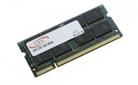 MTXtec Mémoire RAM 2 Go pour Asus Eee PC 1000H, 1000HE, 1000HG, 1001HA, 1001P, 1001PX Seashell, 1002HA, 1003HAG