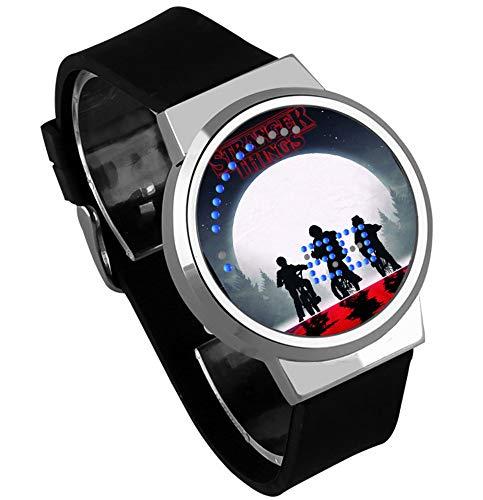 Relojes De Pulsera,Reloj Led Táctil Monster Stranger Things Reloj De Calendario Impermeable Individual...