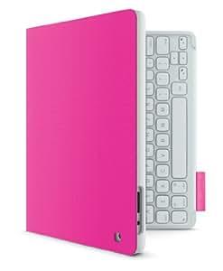 Logitech Keyboard Folio for iPad 2/3/4 (deutsches Tastaturlayout, QWERTZ) fantasy pink