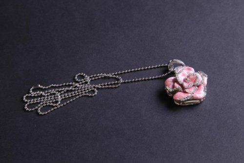 camelia-en-forma-collar-con-diamante-de-imitacion-8gb-8g-memoria-usb-rosa-plata