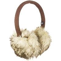 KitSound Audio paraorecchie in finta pelliccia ratina forza con cuffie integrate con 3,5 mm cavo Audio iPod, iPhone, MP3, Tablet e Smartphone