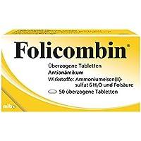 FOLICOMBIN überzogene Tabletten 50 St preisvergleich bei billige-tabletten.eu