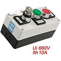 Sourcingmap, Automotive segnalazione lampada PULSANTINI Verde, B008DFXFSI