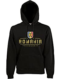 Akytex Rumänien România Fan Fan Hoodie Kapuzenpullover WM2018