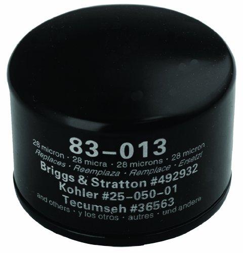 Oregon 83-013 Ölfilter ersetzt Briggs & Stratton 492932S, Kohler 28 050 01-S, Kawasaki 49065-7007
