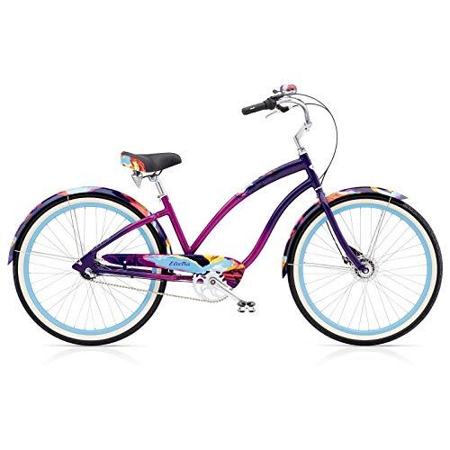 Electra Cruiser Page 3i Damen Fahrrad Ametyst Fade Stadt Cruiser Retro Ladies Aluminium Rad Bike, 571563 - Cruiser Aluminium Beach