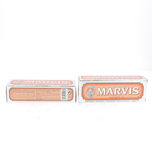 Marvis Zahncreme Ginger Mint, 1er Pack (1 x 25 ml)
