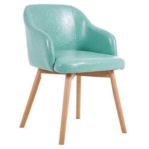 Dining Chair ALY Nordic Esszimmerstuhl Kunstleder Sitz ergonomisches Design Massivholz Lounge Sessel Wohnzimmer Sessel Restaurant Hotel Sofa Stuhl -