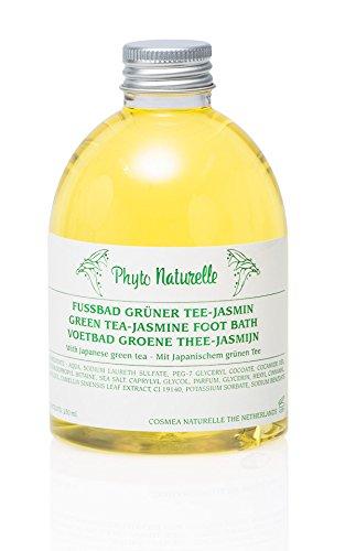 Phyto Naturelle Bain de pieds Jasmin avec thé vert, 1er Pack (1 x 0.25 kg)