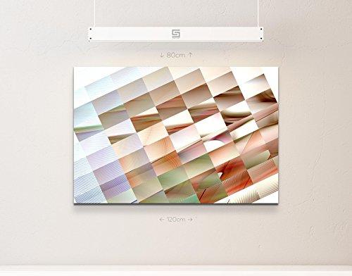 Abstraktes Bild – Vierecke in verschiedenen Farben