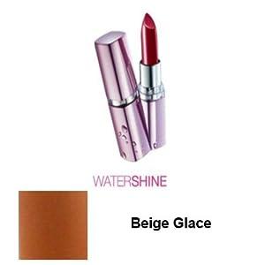 Maybelline Watershine Lipstick - 02 Beige Glace