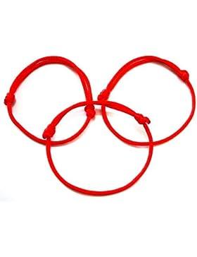 3Kabbalah-Armbänder Rote Schnur, Schmuck, kabala-Armband