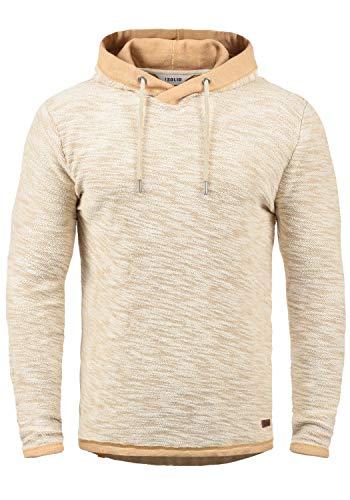 !Solid Flock Herren Kapuzenpullover Hoodie Pullover Mit Kapuze Aus 100% Baumwolle, Größe:M, Farbe:Ermine (5944)