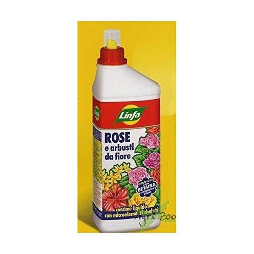 Concime liquido per rose e arbusti da fiore 'Linfa' - L 1