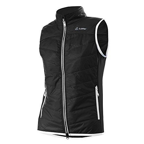 41x4PcnKsmL. SS500  - LÖFFLER Women's Vest Primaloft Mix Hotbond Black