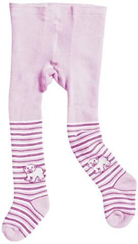 Playshoes Baby - Mädchen Strumpfhose 499051 Thermo Mädchen, Gr. 50/56, Pink (pink/rose)