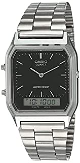 Casio Collection AQ-230A-1DMQYES Mens Watch, Black (B000J39T2S)   Amazon price tracker / tracking, Amazon price history charts, Amazon price watches, Amazon price drop alerts