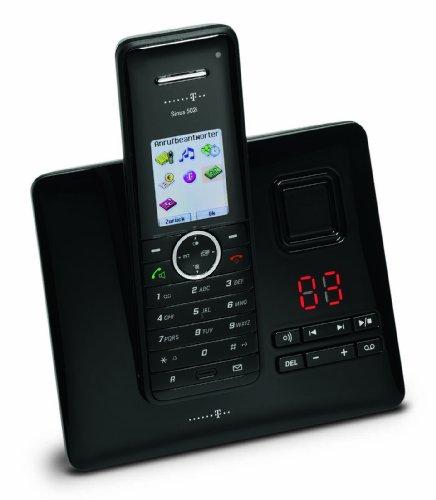 Deutsche Telekom T-Home Telefon Sinus A502i ISDN-Telefon silber/schwarz