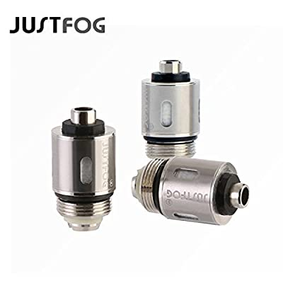 Justfog 1.6 ohm Q16 Q14 S14 G14 C14 Ersatzverdampferkopf, 5 Stück, Blisterverpackung, ohne Nikotin von Justfog