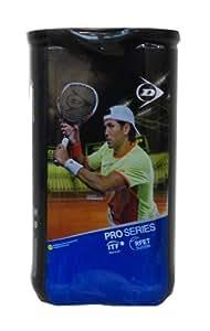 Dunlop Tennisbälle Pro Series BI-Pack, gelb, 602174
