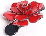 Luxus Hair Big Clip Baretta (Fernsehserie) Rose mit roter Schleife