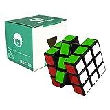 3x3 Speed-Cube - schwarz - Zauberwürfel geeignet für Speedcubing-Anfänger -