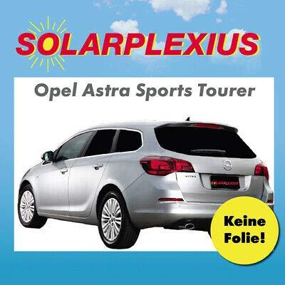 Auto Sonnenschutz fertige, passgenaue Scheiben Tönung, Sonnenblenden, Keine Folien, Vorsatzscheiben OPEL Astra J Kombi/Sportstourer Bj. 2010-15
