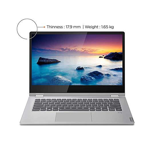 Lenovo Ideapad C340 8th Gen Intel Core i5 14 inch FHD 2 in 1 Convertible Laptop (8GB RAM/1TB SSD/Windows 10/MS Workplace/Platinum/1.65Kg), 81N400JMIN Image 3