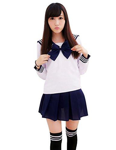 Ninimour Giappone Uniforme Scolastica Vestito Costumi Cosplay Anime Girl Lady Lolita