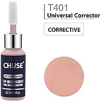CHUSE T401 Universal Corrector Microblading Micro pigmento maquillaje permanente tatuaje tinta color cosmético pasó SGS, DermaTest 12 ml (0.4fl.oz)