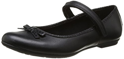 Clarks Kimberly Sky, Ballerines fille Noir (Black)
