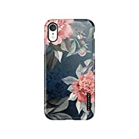 Akna iPhone XR Case Vintage floral, Sili-Tastic Series High Impact Silicon Cover with Full HD+ Graphics for iPhone XR (101675-U.K)