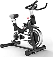 Indoor Cycling Bike Exercise Bike 48lbs Flywheels Silent Belt Drive with Resistance System for Home Cardio Wor