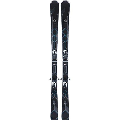 VÖLKL FLAIR 76 ELITE Ski 2018 inkl. VMOTION 10 GW LADY black/white, 154