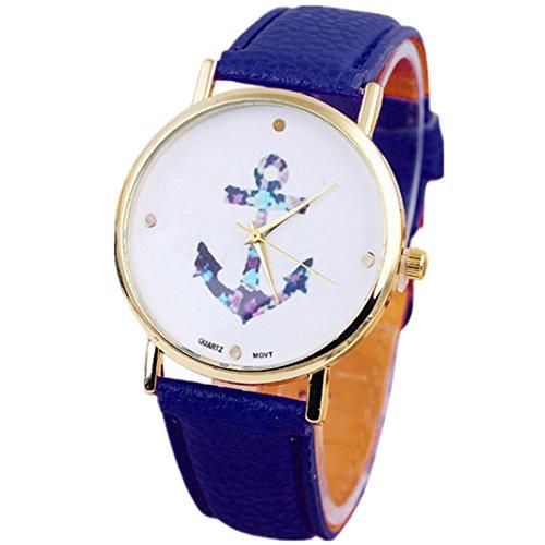 fulltimetm-style-classique-femmes-de-mode-motif-de-tete-dancre-marine-colore-montre-a-quartz-bracele